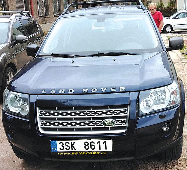 Land Rover Frilander 2....