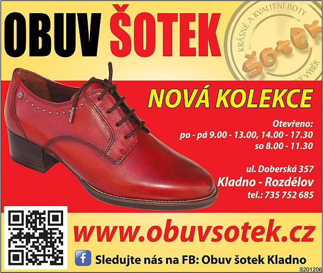 Obuv Šotek, nová kolekce...