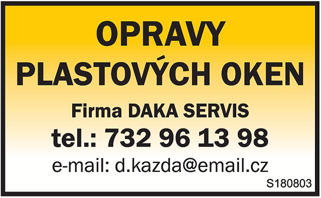 OPRAVY PLASTOVÝCH OKEN Firma...