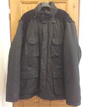 Pánská černá zimní bunda,...