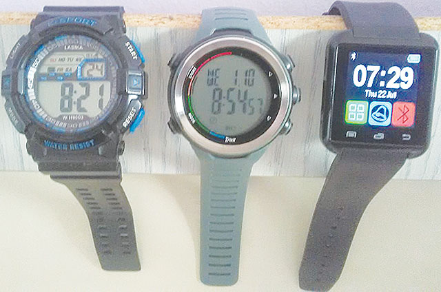 Sportovní multifunkční hodinky na...