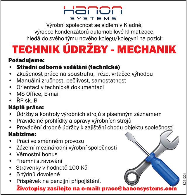 Hanon systems, výrobní společnost...