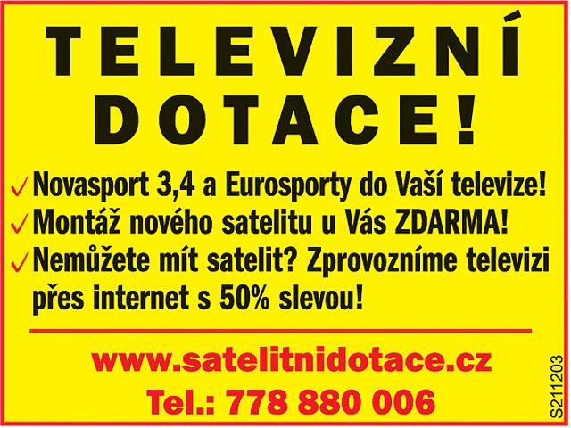 Satelit u Vás doma....