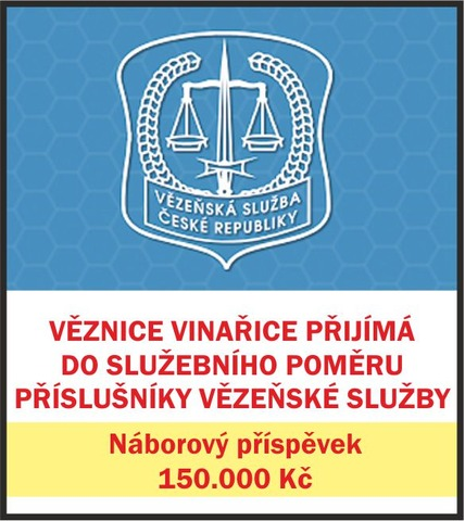 Příslušník vězeňské služby Vinařice u Kladna