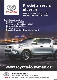 Toyota Louwman Kladno