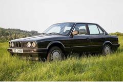 BMW 316i e30 plasťák v původním zachovalém stavu