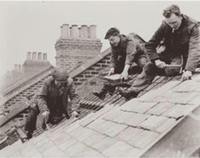 Opravy střech, tašky...