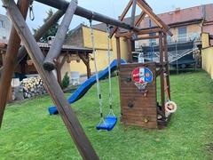 Dětský dřevěný set na zahradu
